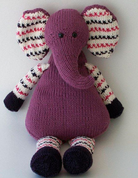 Pears The Elephant Knitting Patterns And Crochet Patterns From