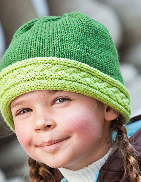 Braided Cable Hat Knitting Patterns And Crochet Patterns From