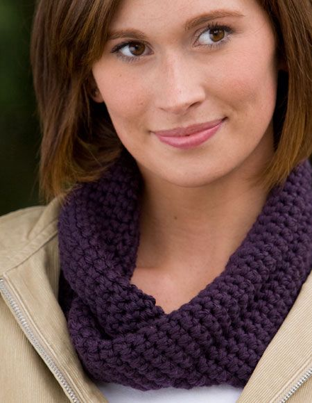 One Skein Mobius Crochet Cowl Knitting Patterns And Crochet