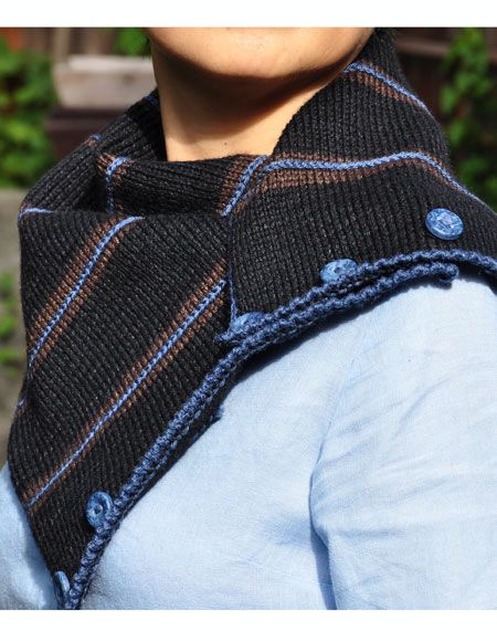 Simple, Easy and Stylish Neck Warmer - Knitting Patterns ...