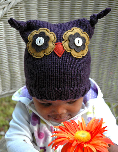 Ollie Owl Hat Knitting Patterns And Crochet Patterns From