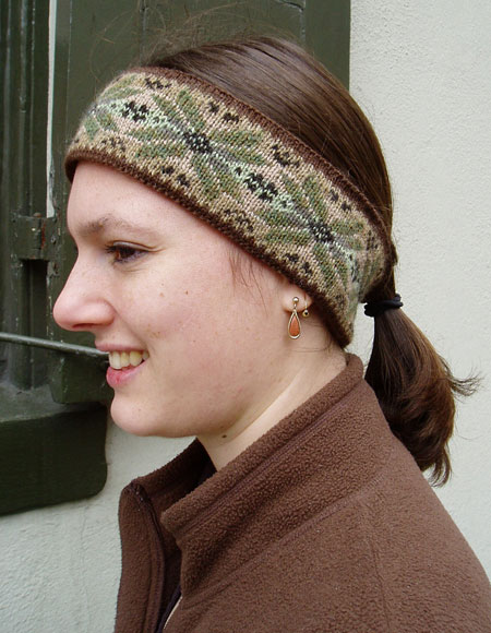 North Star Headband Knitting Patterns And Crochet Patterns From