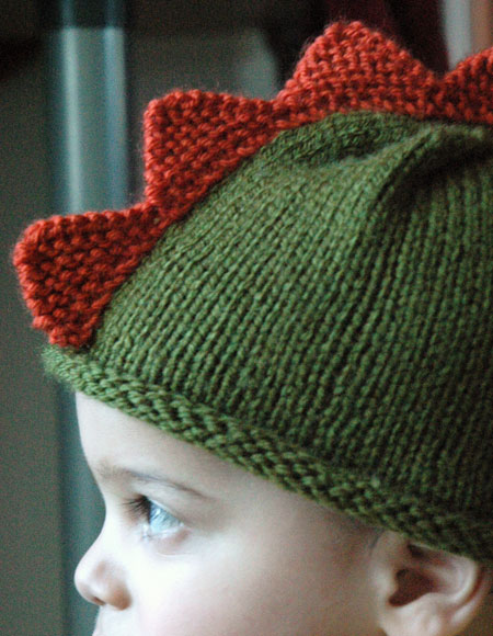 Dinosaur Hat - Knitting Patterns and Crochet Patterns from KnitPicks.com 5aadbd278ec