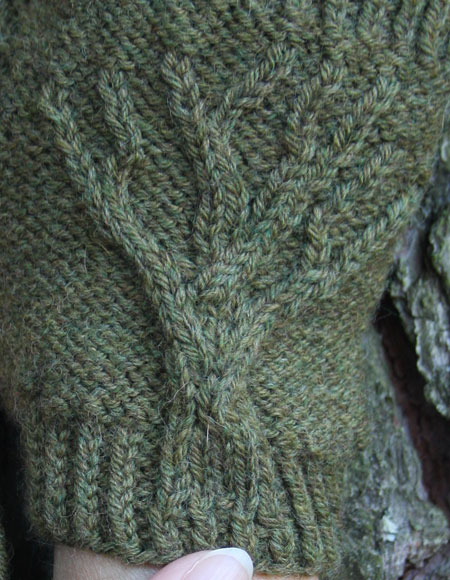 Tree Of Life Knitting Pattern : Tree of Life Fingerless Gloves - Knitting Patterns and ...
