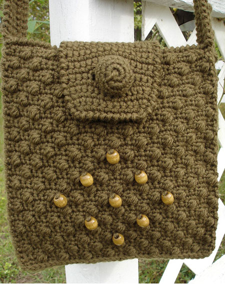 Cobblestone Crochet Shoulder Bag Knitting Patterns And Crochet
