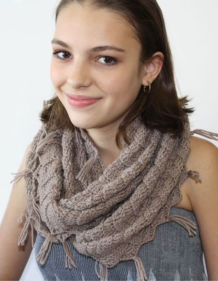 Crochet Infinity Scarf Knitting Patterns And Crochet Patterns From