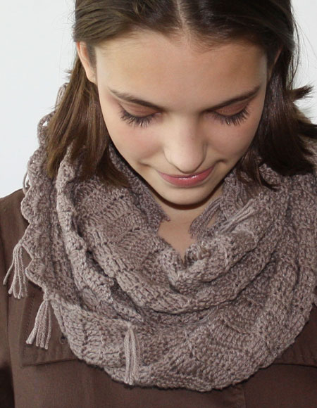 Crochet Infinity Scarf - Knitting Patterns and Crochet ...