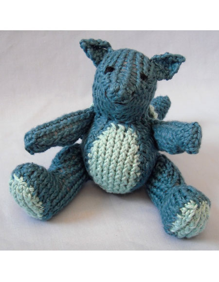 Seamus the Baby Dragon - Knitting Patterns and Crochet ...