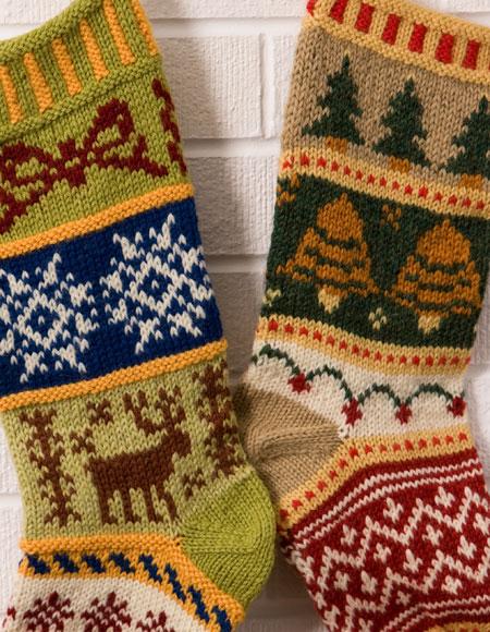 Christmas Stocking Knitting Kits