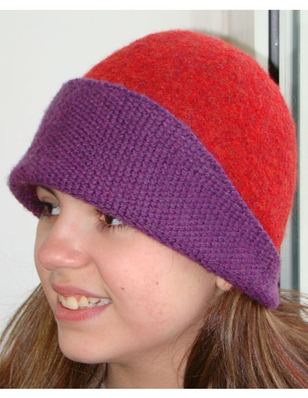 Felted Cloche Knitting Patterns And Crochet Patterns From