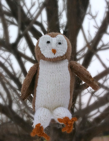 Barn Owl - Knitting Patterns and Crochet Patterns from ...