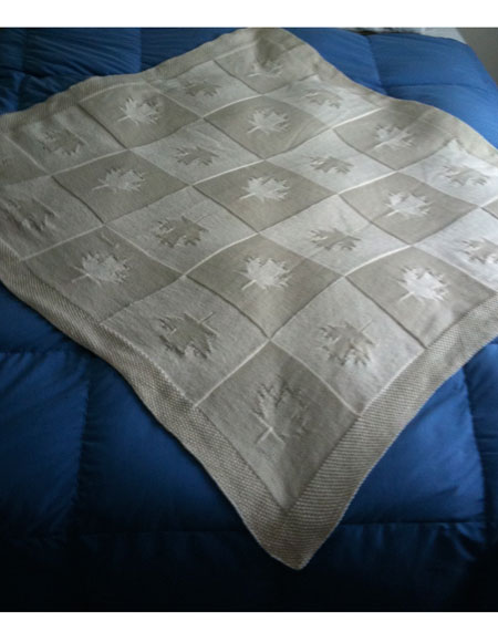 Maple Blanket Knitting Patterns And Crochet Patterns From