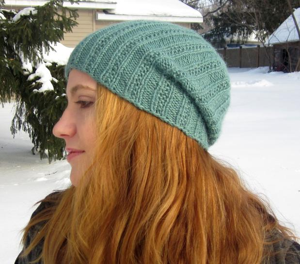 Pearmain Slouchy Beanie Knitting Patterns And Crochet Patterns