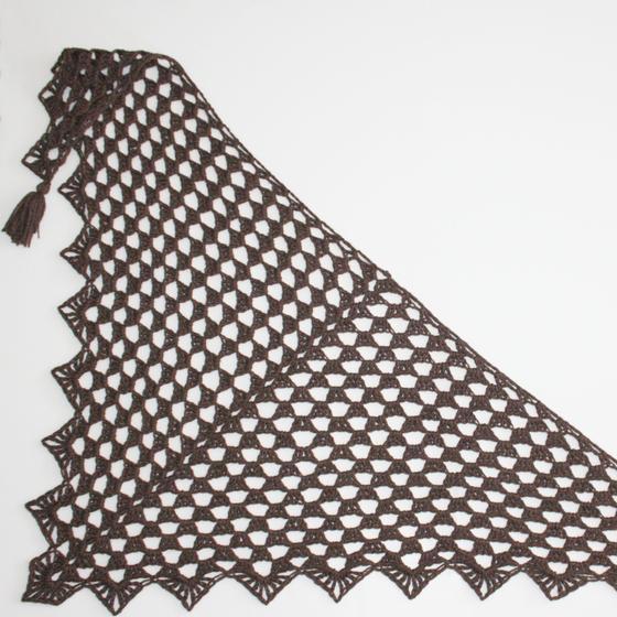 Pretty Triangle Crochet Scarf Knitting Patterns And Crochet