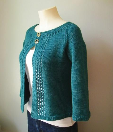 Mayim Cardigan on mannequin