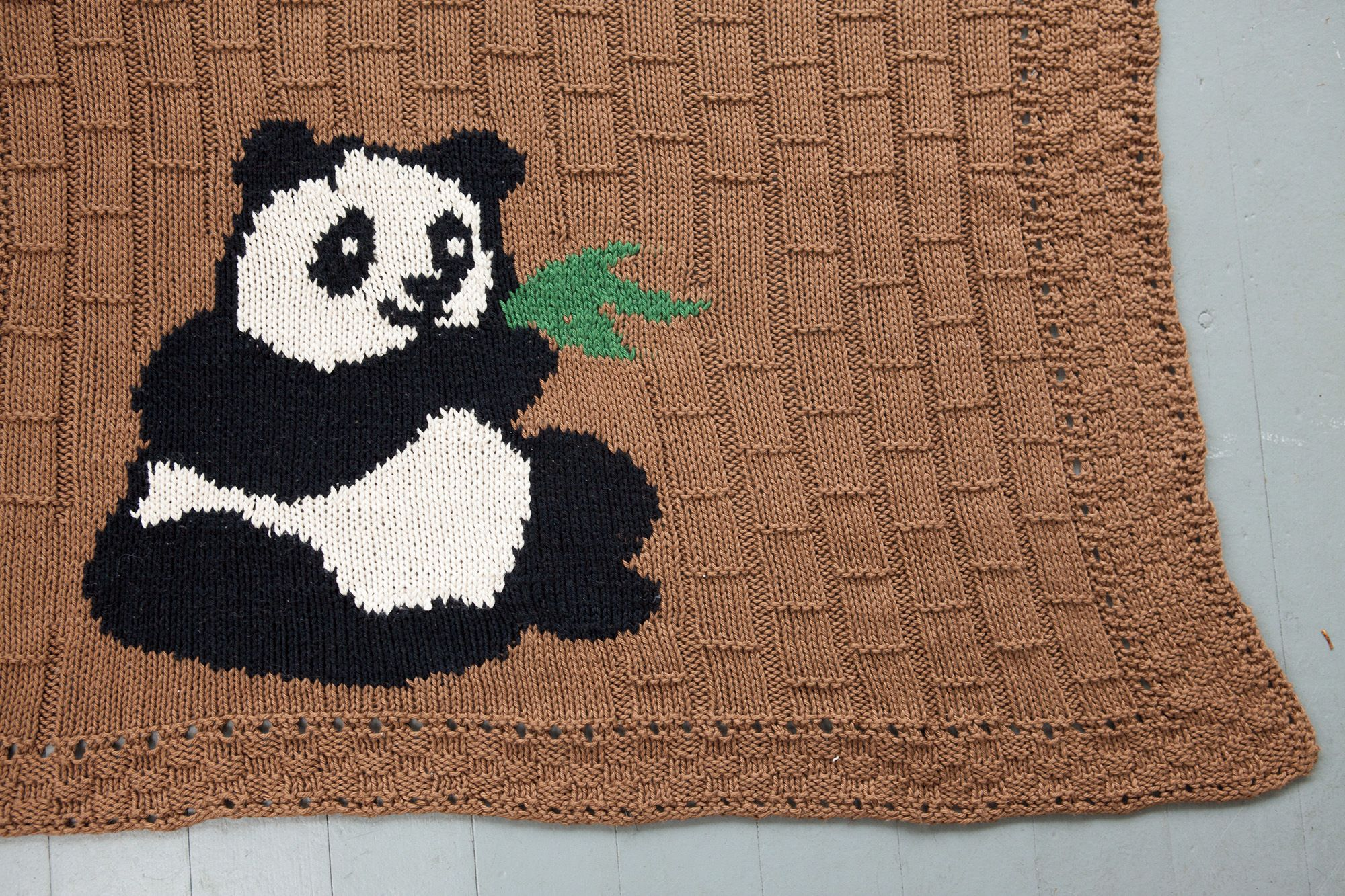 Among The Bamboo Baby Blanket Knitting Patterns And