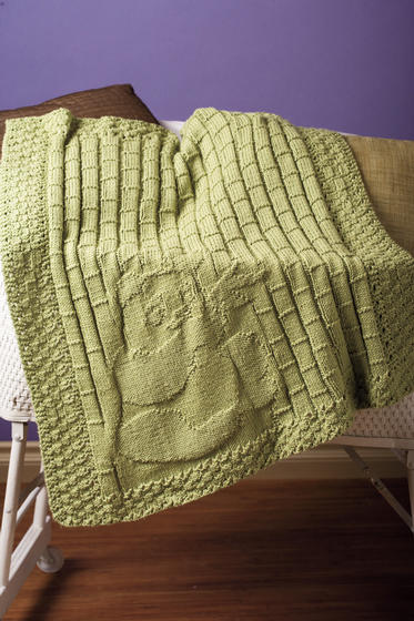 Among The Bamboo Baby Blanket Knitting Patterns And Crochet