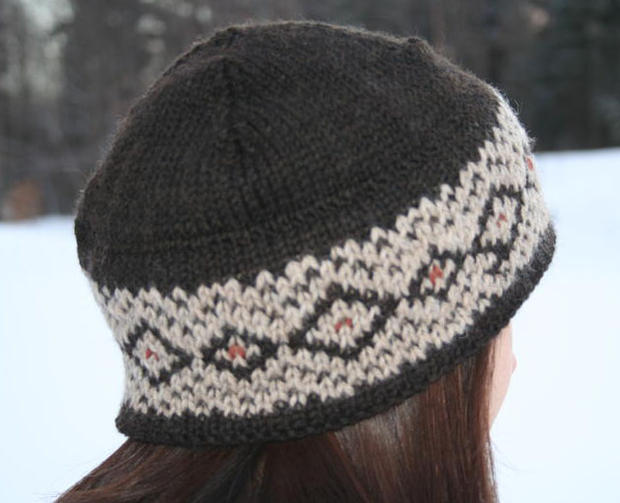 Double Knitting Hat Pattern : Double Up Hat - Knitting Patterns and Crochet Patterns from KnitPicks.com