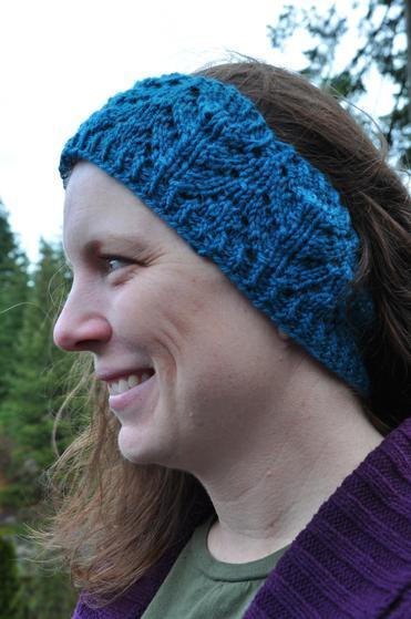 Fern Ear Warmer Knitting Patterns And Crochet Patterns From