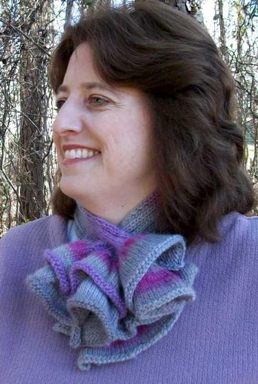 Ruffled Ascot Knitting Patterns And Crochet Patterns From
