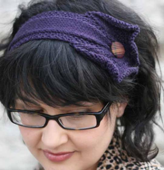 Lace Headband Knitting Pattern Free : Twin Cities Headband - Knitting Patterns and Crochet Patterns from KnitPicks.com