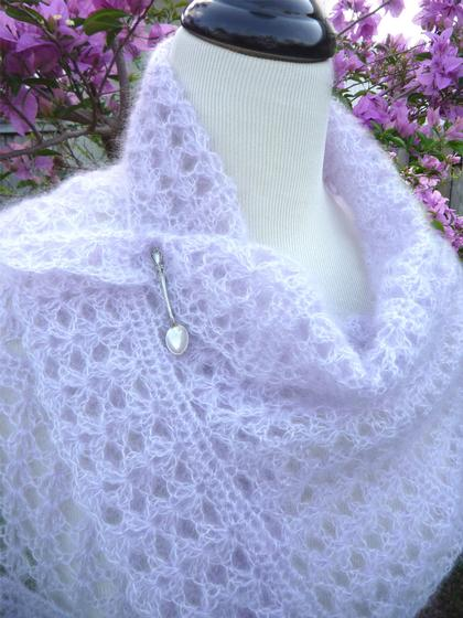 Shell Script Crochet Wrap Scarf Knitting Patterns And Crochet