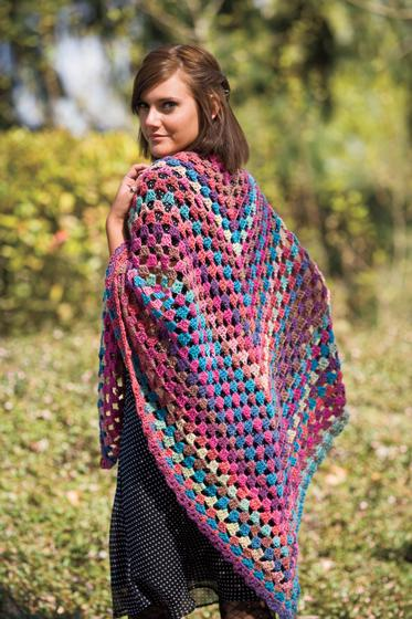 Hippie Chick Crochet Shawl Knitting Patterns And Crochet Patterns