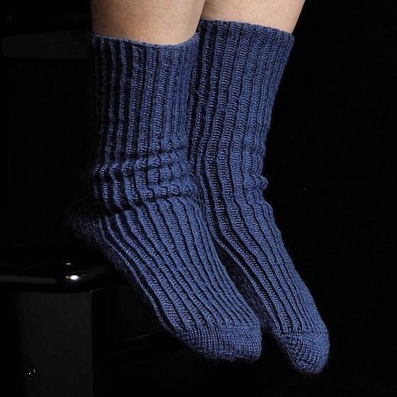 Toe Up Twisted Knit Rib Socks Knitting Patterns And Crochet