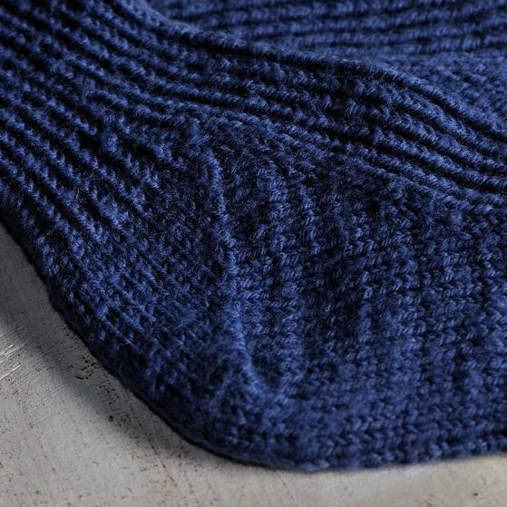 Toe-Up Twisted Knit Rib Socks - Knitting Patterns and Crochet Patterns from K...