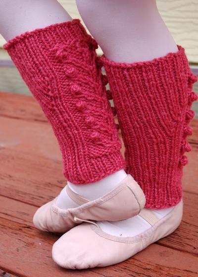 Free Crochet Pattern Ballet Wrap : Sweet Blossom Ballet Wrap & Legwarmers - Knitting Patterns ...
