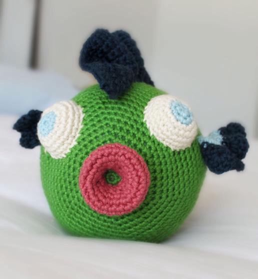 Free Knitting Patterns Stuffed Toys : Cuddlefish Crochet Plush Toy - Knitting Patterns and ...
