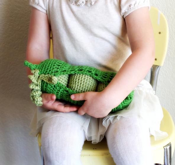 Cotton Peas In Pod Crochet Toy Knitting Patterns And Crochet