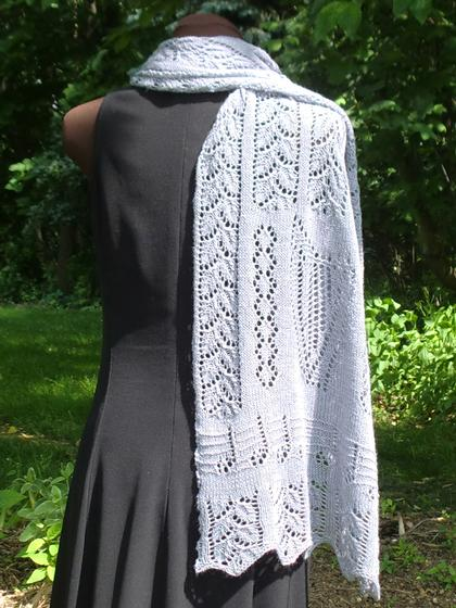 Octavias Garlands Lace Shawl Knitting Patterns And Crochet