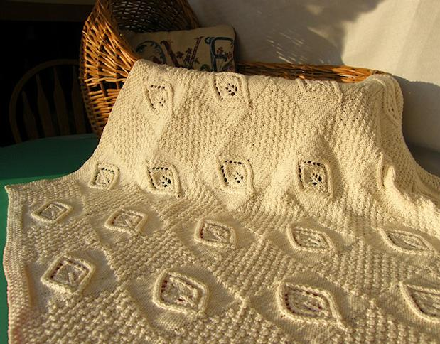 Celtic Child: Small Miracles Baby Blanket - Knitting Patterns and ...