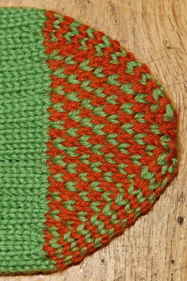 Double Cuff Socks Knitting Patterns And Crochet Patterns From