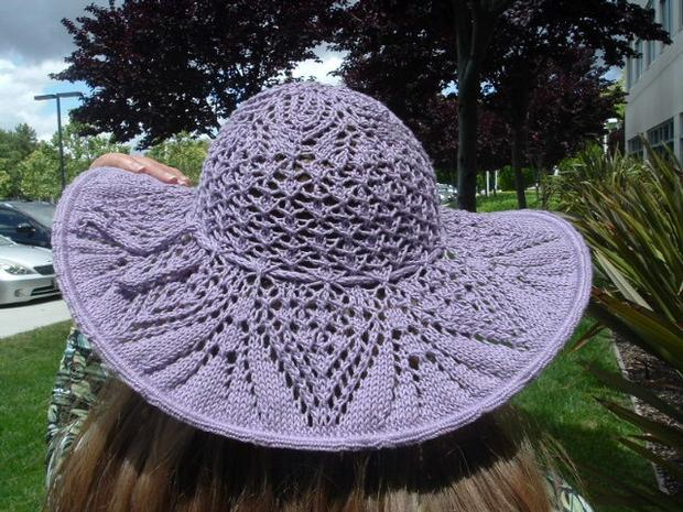 Doily Inspired Lace Hat Knitting Patterns And Crochet Patterns