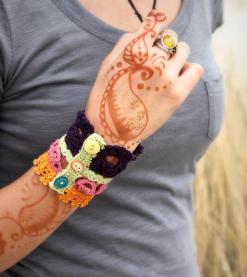 Plethora Antique Crochet Lace Cuff Knitting Patterns And Crochet