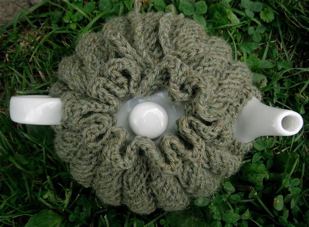 Spiral Rib Tea Cozy Knitting Patterns And Crochet Patterns From