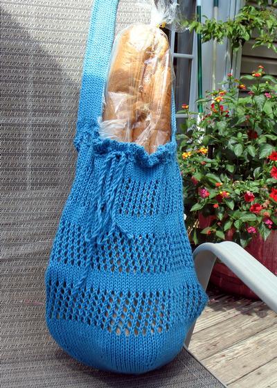 Zig Zag Market Bag Knitting Patterns And Crochet Patterns From