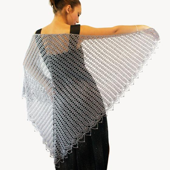 Wrapped In Lace Crochet Shawl Knitting Patterns And Crochet