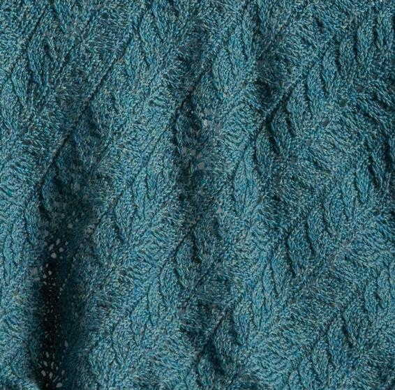 Twin Leaf Baby Blanket Knitting Patterns And Crochet
