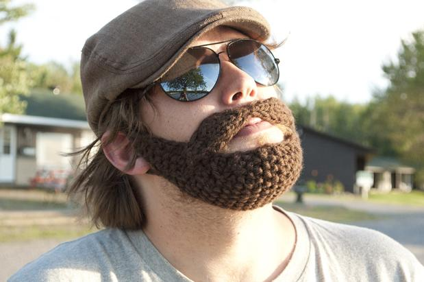 Knitted Rasta Hat Pattern : Beard - Knitting Patterns and Crochet Patterns from KnitPicks.com