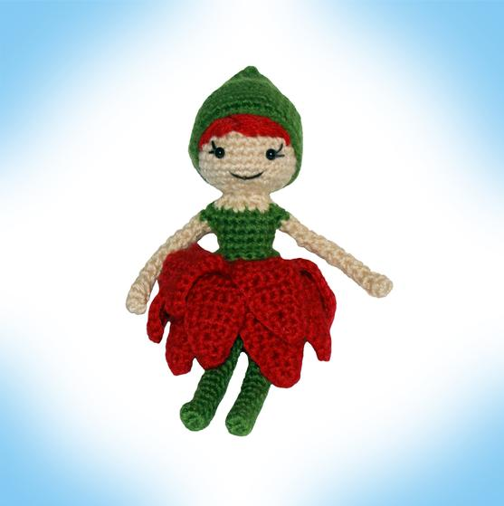 Blossom Pixie Crochet Doll - Knitting Patterns and Crochet Patterns ...