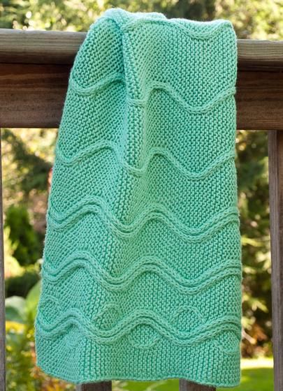 Cotlin Hand Towels with Traveling Stitch Designs ...