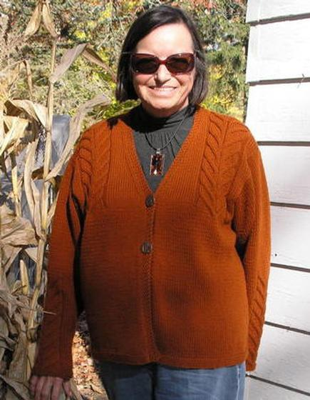 Staghorn Cable Cardigan Knitting Patterns And Crochet Patterns