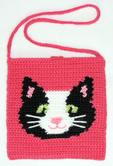 Kitty Tapestry Crochet Purse Knitting Patterns And Crochet
