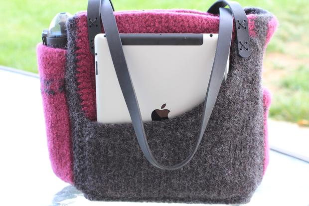 The Angela Bag Knitting Patterns And Crochet Patterns From