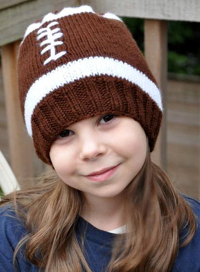 Football Hat - Knitting Patterns and Crochet Patterns from KnitPicks.com ea4975477