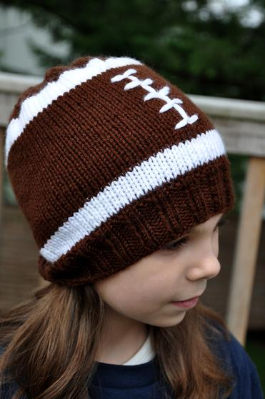 Football Hat Knitting Patterns And Crochet Patterns From Knitpicks