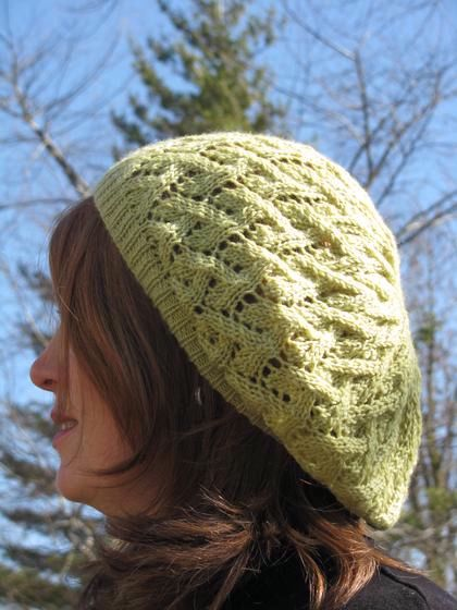 Ashley Slouchy Beret - Knitting Patterns and Crochet Patterns from KnitPicks.com